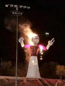 zozobra burning